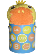 Rubber Duckie Bath Baby Goodie Tin