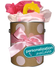 Personalized Baby Girl Keepsake Goodie Tin