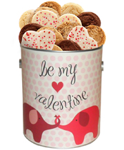 Be My Valentine Goodie Cookie Tin