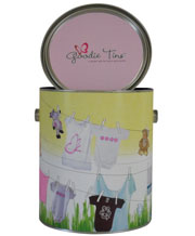 Organic Baby Girl Goodie Tin