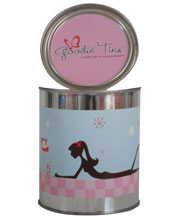Pink Girlie Girl Goodie Tin