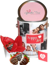 Chocolate Strawberry Delight Goodie Tin