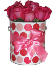 Valentine's Day Flower Tin